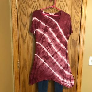 Tryst short sleeve tunic